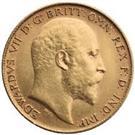 UNITED KINGDOM - BRITAIN EDWARDS VII 1903